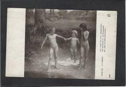 CPA Enfant Nu Nude  Maury Salon De Paris Non Circulé - Desnudos Adultos (< 1960)