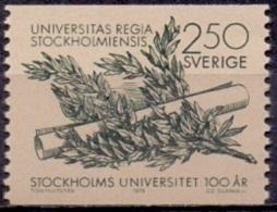 ZWEDEN 1978 Universiteit PF-MNH - Schweden