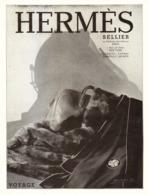"""PUB SELLERIE  """" HERMES """"   1930  ( 3 ) - Autres Collections"""