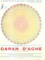 """PUB  CRAYONS De COULEURS  """" CARAN D'ACHE """"   1930  ( 2 ) - Other Collections"""