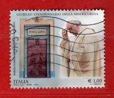 Italia- °-2015- GIUBILEO Della MISERICORDIA € 1,00. - Usato.   Vedi Descrizione - 6. 1946-.. Repubblica