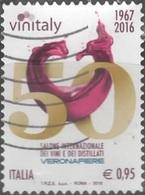 Italia 2016 Vinitaly Logo 50° - 6. 1946-.. Repubblica