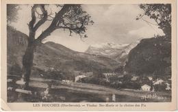 DAV :  Haute  Savoie :  LES  HOUCHES :  Viaduc  Ste  Marie Et La  Chaine  Des   Fiz - Les Houches