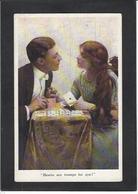 CPA Jeu De Cartes Carte à Jouer Playing Cards Non Circulé Cartomancie - Cartes à Jouer