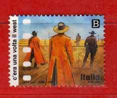 Italia °- 2018 - CINEMA ITALIANO - C'ERA UNA VOLTA IL WEST. Vedi Descrizione. - 6. 1946-.. Repubblica