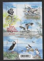 France 2012 Bloc Feuillet F4656 Neuf Oiseaux LPO à La Faciale - Sheetlets