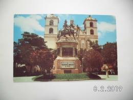 Parque Morazan X Tegucigalpa. (16 - 4 - 1952) - Honduras