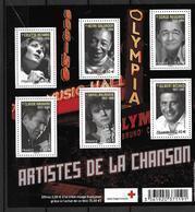 France 2011 Bloc Feuillet N° F4605 Neuf Célébrités La Croix Rouge Au Prix De La Poste - Sheetlets