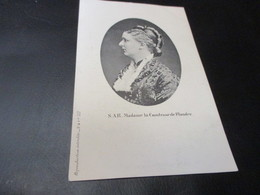 Koningshuis, S A R Madame La Comtesse De Flandre - Familles Royales