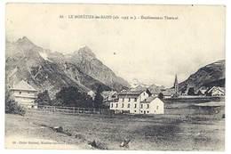 Cpa Le Monetier Les Bains - Etablissement Thermal - France