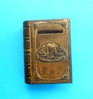 GAZI HUSREV-BEG'S MOSQUE ( Sarajevo, Bosnia ) Antique Small Book - Metal Money Box * Islam Religion Mosquée Tirelire RR - Arte Orientale