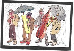 Viennoise De B.K.W.I - Orchestre Sous La Pluie, Trompette, Violoncelle, Trombone, Saxo, Parapluie - Fantaisies