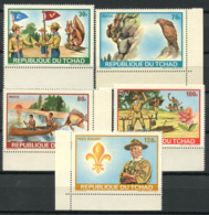 Tchad 1972 Mi. 528-532 Neuf ** 100% Scoutisme - Tchad (1960-...)