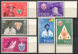 Togo 1961 Mi. 313-318 Neuf ** 100% Scout - Togo (1960-...)