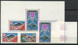 Bénin 1967 Mi. 321-323, Bl.9 Bloc Feuillet 100% Neuf ** Scoutisme - Bénin – Dahomey (1960-...)