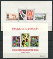Bénin 1966/1972 Mi. Bl.5, 18 Bloc Feuillet 100% Neuf ** , Scoutisme - Bénin – Dahomey (1960-...)