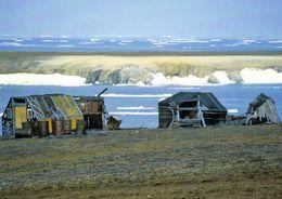 1 AK Wrangel Island Russia * Trapper Huts On This Island * Russia Arctic Ocean - Seit 2004 UNESCO Weltnaturerbe * - Russland