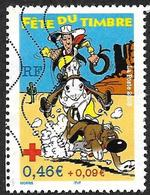 FRANCE  2003  -  Y&T  3547   -   Fête Du Timbre. Lucky Luke   - Oblitéré - France