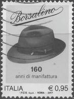 Italia 2017 Borsalino - 6. 1946-.. Repubblica
