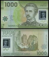 CHILE - 1.000 Pesos 2015 {Polymer} UNC P.161 F - Chili