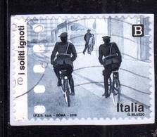 ITALIA REPUBBLICA ITALY REPUBLIC 2018 ECCELLENZE ITALIANE DELLO SPETTACOLO CINEMA I SOLITI IGNOTI B USATO USED OBLITERE - 6. 1946-.. Repubblica
