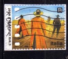 ITALIA REPUBBLICA ITALY REPUBLIC 2018 ECCELLENZE ITALIANE DELLO SPETTACOLO CINEMA C'ERA UNA VOLTA IL WEST B USATO USED - 6. 1946-.. Repubblica