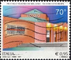Italia 2017 Piccolo Teatro Di Milano - 6. 1946-.. Repubblica