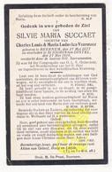 DP Silvie M. Succaet / Veermeer ° Beernem 1877 † Sint-Joris-ten-Distel 1919 - Images Religieuses