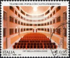 Italia 2017 Teatro Popolare Castelfiorentino - 6. 1946-.. Repubblica
