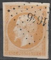 PETITS CHIFFRES - HAUTE GARONNE - LANTA - PC 1646 - Marcophilie (Timbres Détachés)