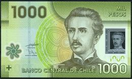 CHILE - 1.000 Pesos 2010 {Polymer} UNC P.161 A - Chili