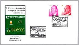 ACADEMIA OLIMPICA ESPAÑOLA 2010 - Spanish Olympic Academy. Valladolid 2010 - Juegos Olímpicos