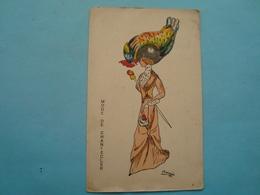 Illustrateur - Mode De Chantecler - Postée De Budapest En Hongrie En 1911 - Autres Illustrateurs