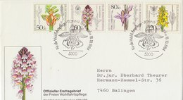 GERMANY 1984 FDC With Orchids.BARGAIN.!! - [7] West-Duitsland