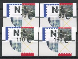 Pays-Bas 1996 Mi. 2 Neuf ** 100% ATM - Poststempel - Freistempel