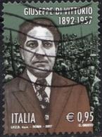 Italia 2017 Giuseppe Di Vittorio - 6. 1946-.. Repubblica