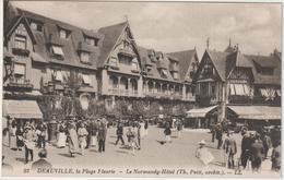 DAV :  Calvados :  DEAUVILLE ; La  Plage   Fleurie , Le  Normandy - Hôtel - Deauville