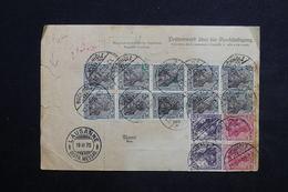 ALLEMAGNE - Bulletin De Colis Postal De Buchholtz Pour La Suisse En 1920 - L 23501 - Allemagne