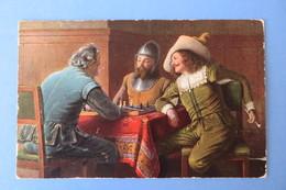 1 Old Postcard, Chess,échecs,Ritter, Adel,Schach,T.S.N. Serie 795 - Jeux Et Jouets