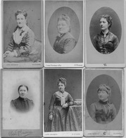 PHOTOS CHERI ROUSSEAU 6 CDV - Old (before 1900)