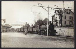 Zürich Affoltern - Bahnhof - Gare - Dampflok - 1932 - ZH Zurich