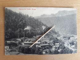 ROUMANIE - Fabrica De Postav Azuga 1917 - Roumanie