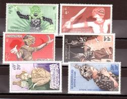 Laos - 1955 - PA N° 14 à 19 - Neufs ** - Personnages Fabuleux Du Théâtre National - Laos