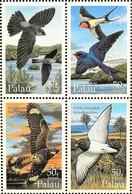 Palau 1995** Klb.864-67. Palau's Avian Aerialists MNH [12171] - Birds