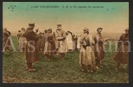 Postcard / ROYALTY / Belgium / Belgique / Roi Albert I / Koning Albert I / Camp D'Elsenborn / Unused / 2 Scans - Elsenborn (Kamp)