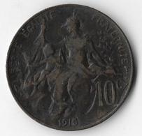France 1916 10 Centimes [C356/1D] - France