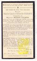 DP Marie L. Sansen ° Veurne 1867 † Brugge 1931 X Modest Stevens - Images Religieuses