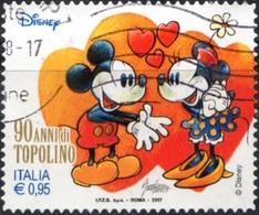 Italia 2017 90 Anni Di Topolino (da Foglietto) - 1946-.. République