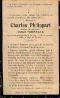 Souvenir Mortuaire PHILIPPART Charles (1848-1920) Mort à SEILLES - Images Religieuses