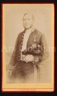Photo-carte De Visite / CDV / Homme / Man / Burgemeester (?) / Maire (?) / Medaille / L. H. Zeyen / Liège / 1887 - Foto's